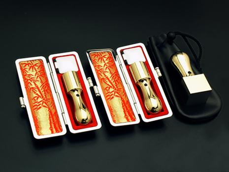 会社設立3本セット エクセレントチタン リッチゴールド